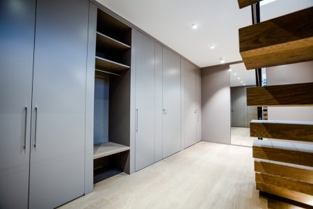 We make real fitted wardrobes