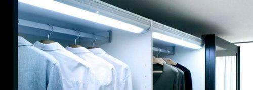 Fitted Wardrobes Lighting : DIY installation